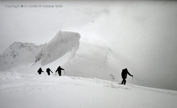 Wengen, Ski Mountaineering Bernese Oberland, Switzerland