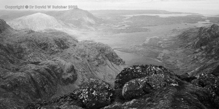 A'Mhaighdean View West, Fisherfield, Kinlochewe, Scotland