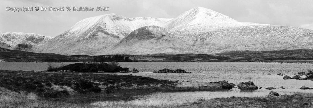 Black Mount Meall a'Bhuiridh, Rannoch Moor, Scotland