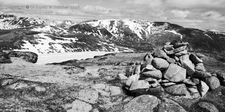 Ben Alder from Sgor Gaibhre, Rannoch Moor, Scotland