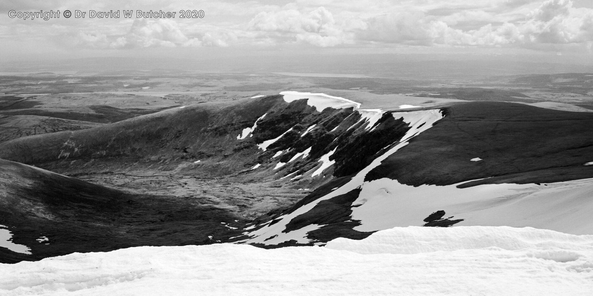 Ben Wyvis Summit Ridge, Inverness, Scotland