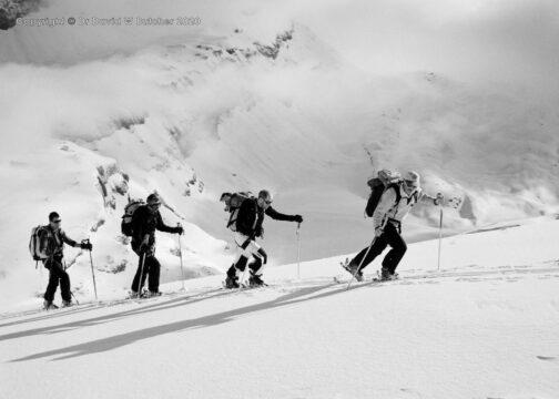 Crans Montana, Schwarzhorn Ascent, Switzerland