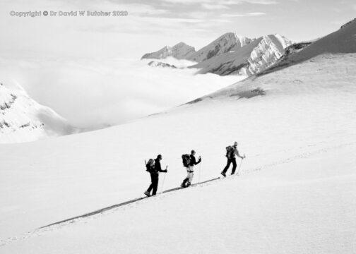 Crans Montana Schwarzhorn Ascent Above the Clouds, Switzerland