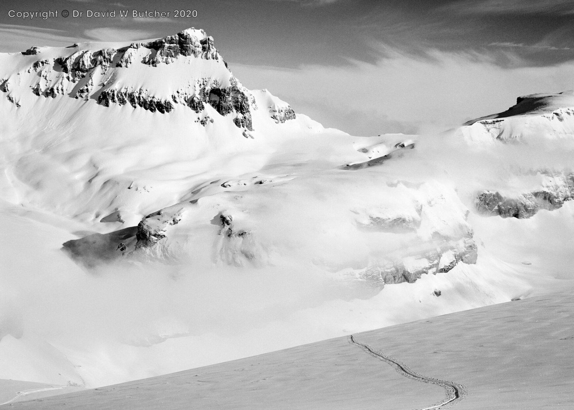 Crans Montana, Grossstrubel and Strubelegga from Schwarzhorn Ascent, Switzerland