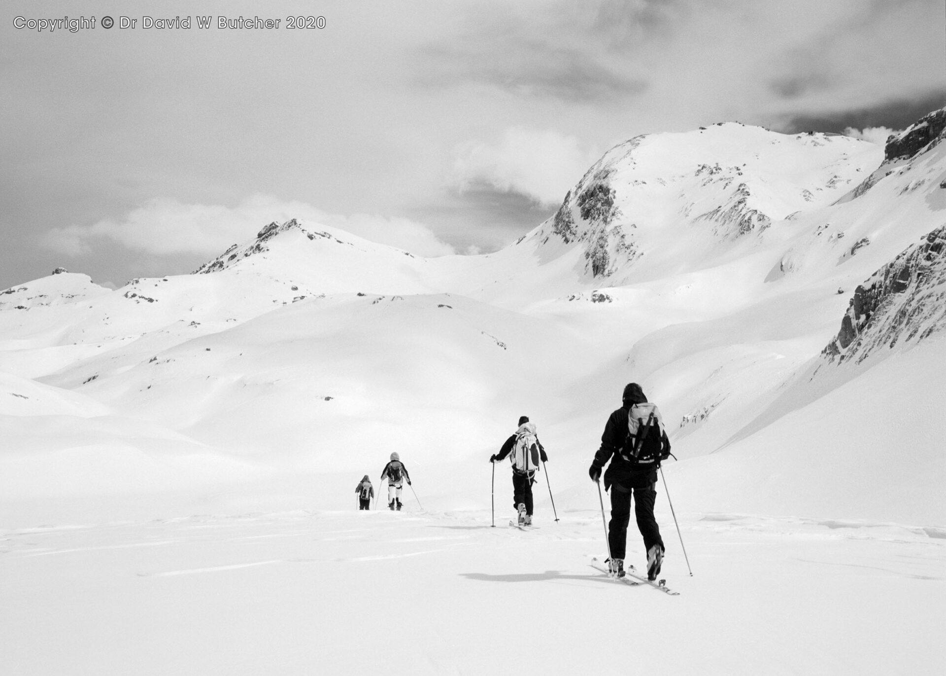 Crans Montana Crossing Plaine Morte, Switzerland
