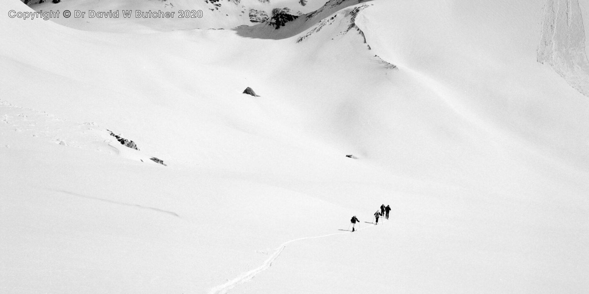 Sion, Cabanne des Audannes Approach, Switzerland