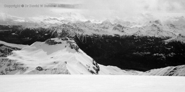 Sion, Wildhorn View to Six des Eaux Froides, Switzerland