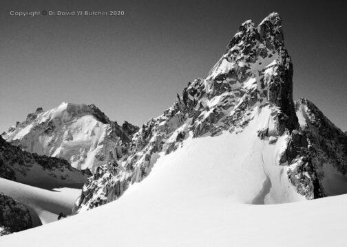 Trient, Aiguille Purtscheller from Plateau du Trient, Switzerland