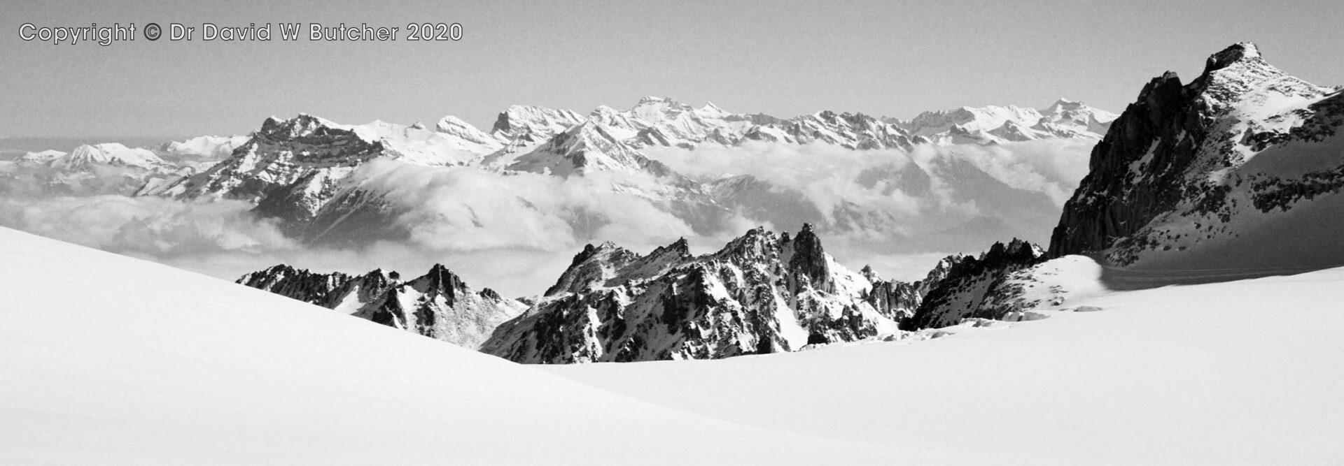 Trient, Plateau du Trient View East, Switzerland