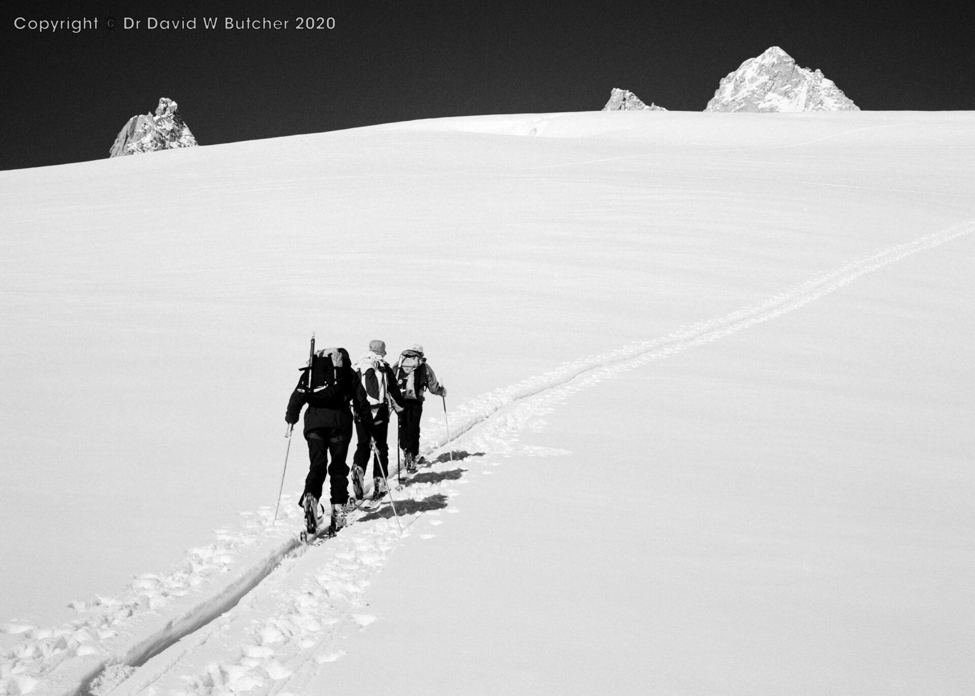 Trient, Crossing the Plateau du Trient, Switzerland