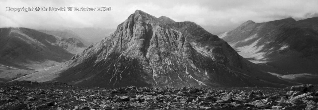 Buachaille Etive Mor from Beinn a'Chrulaiste, Glen Coe, Scotland