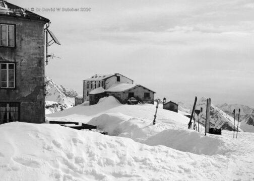 Rifugio Guglielmina, Col d'Olen, Gressoney, Italy