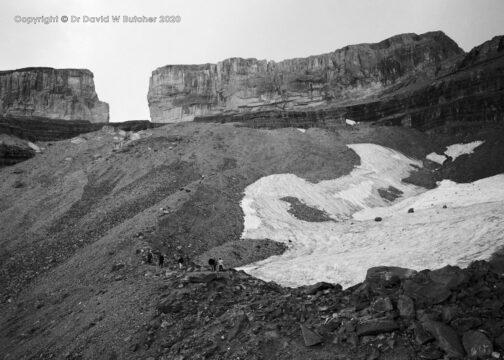 Breche de Roland and Glacier Moraine, Gavarnie, Pyrenees