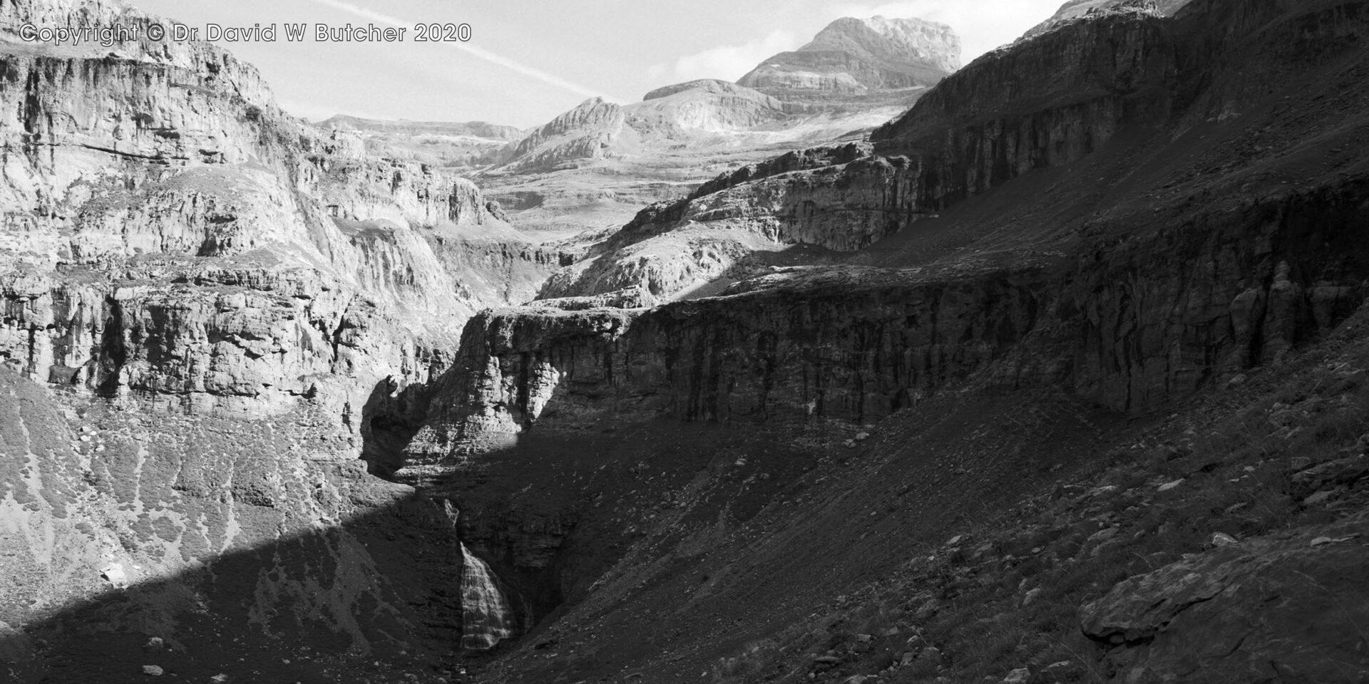 Ordesa Gorge and Mares Tail Falls, Torla, Pyrenees