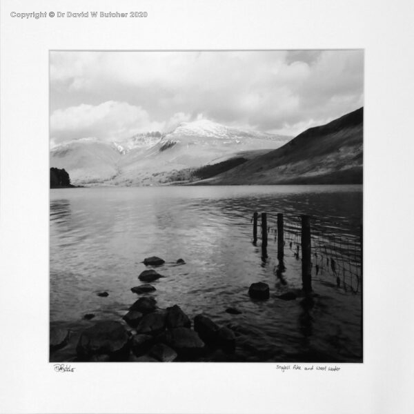 England, Lake District Scafell Pike and Wast Water