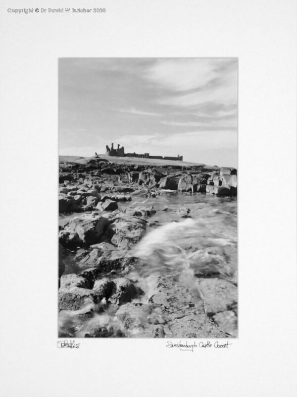 England, Northumberland Dunstanburgh Castle near Craster by Dave Butcher