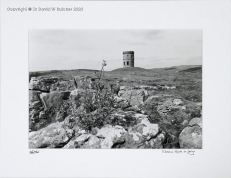 Buxton Solomon's Temple in Spring, Peak District by Dave Butcher
