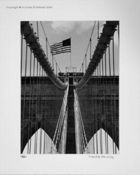 New York Brooklyn Bridge Cables