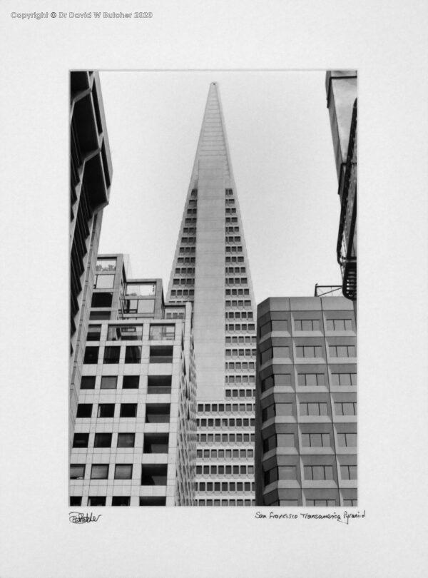 USA, San Francisco Transamerica Pyramid