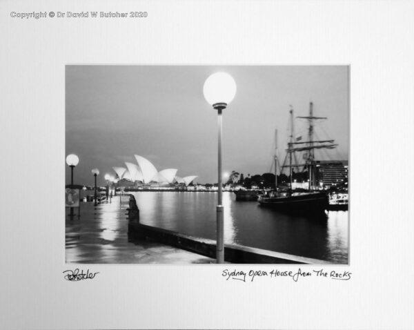 Australia, Sydney Opera House from The Rocks area