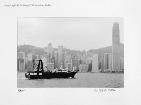 Hong Kong from Kowloon, China