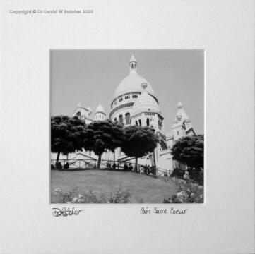 France, Paris Montmartre Sacre Coeur Basilica
