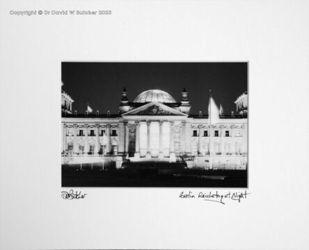 Germany, Berlin Reichstag at Night