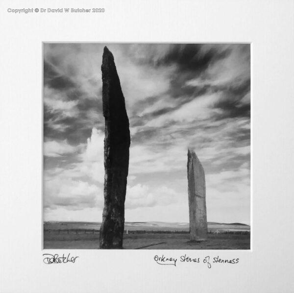 Scotland, Orkney Stones of Stenness near Stromness
