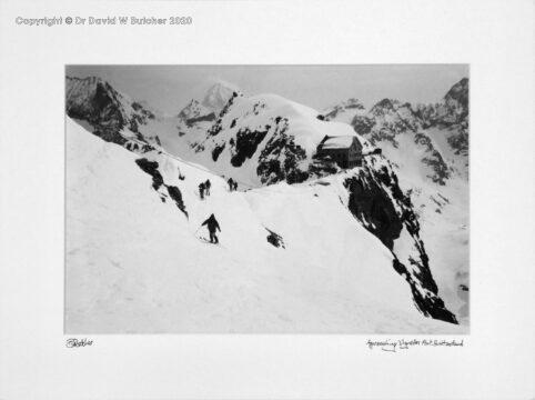 Switzerland, Arolla Approach to Vignettes Refuge Hut