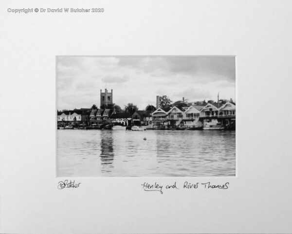 England, Henley on Thames waterfront