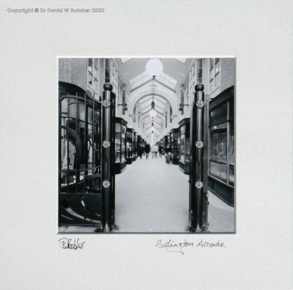 England, London Burlington Arcade on Piccadilly