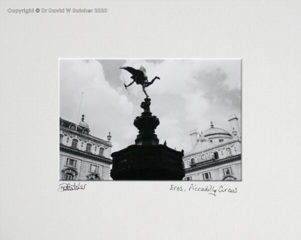 England, London Piccadilly Circus Eros Statue